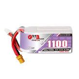 Gaoneng GNB 15.2V 1100mAh 60C 4S LiPo Battery XT30 / XT60 Plug for FPV Racing Drone