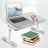 Adjustable Tabletop Desks With Cooling Fan Laptop Notebook Foldable Stand Home