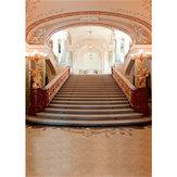 5x7フィート1.5x2.1m美しい豪華な結婚式の宮殿の写真の背景ビニール布の背景