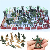 170 PCS Soldier Scène Model Set Toys For Kids Kinderen Cadeau