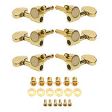3R3L Demi-cercle Bouton Guitare Tuning Pegs Machine Heads Tuners Guitare Pièces