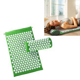 KALOAD Akupunktur-Massage-Pad Yoga Matten mit Akupunktur-Kissen Sport Fitness Fatigue Relief Akupunkt-Massage-Pad