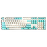138 Keys Blue Robin Keycap Set OEM Profile PBT Keycaps for 61/64/87/104/108 Keys Mechanical Keyboards