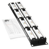 110 Typ 48-Port Cat6 Unshielded Wallmount oder Rackmount Patch Panel Cat6 Patch Panel