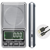 600g 0.01g Elektronische LCD Sieradenweegschaal Digitaal Pocketgewicht Mini Precision Balance USB Interface