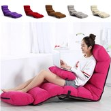 205 CM 3 opvouwbare Lazy Sofa Chair Portable stijlvolle bankbed