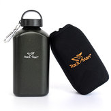 Trackman TM7135 1L Outdoor Sports Water Kettle Tactical Aluminum Drinking Bottle With Cover