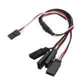 150mm 300mm 30 Cores Y Line Servo Extension Cable Servo Connector for RC Helicopter