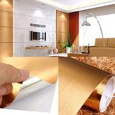 60cmx3mResistentespazzolatoAdesivodaparete in carta a buccia per parete Adesivo in PVC resistente allo strappo