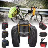 BIKIGHTدراجةحقيبةالأمتعةدراجةكبيرة سعة قابلة للدراجات ضد للماء حقيبة الدراجات الهوائية الخلفية