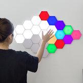 Moderno LED RGB Colorful Night Light dimmer Quantum Lamp Iluminação modular sensível ao toque Lâmpada noturna magnética DIY Decoração de quarto interno