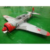 Taft Hobby Airplane Yak-11 EPO 1450mm Envergure RC Avion Guerre Avion KIT / PNP