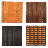 30x30cm DIY drewno patio Interlocking Flooring Decking Tile Indoor Outdoor Garden Dekoracje podłogowe