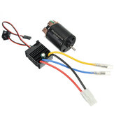 540 Motor 60A ESC Carbon Escovou o eixo 3.175mm para carro 1/10 RC