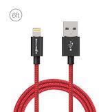 BlitzWolf® BW-MF6 2.4A Yıldırımdan USB'ye Örgü Veri Kablosuna 6ft / 1.8m (iPhone 8 için) Plus X 7 Plus