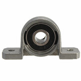 5Pcs 8mm Bore Diameter Pillow Block Bearing Ball KP08 liga de zinco