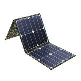 Dual USB 60W Foldable IP65 Sunpower Solar Panel High Conversion Solar Power Bank