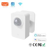 Tuya PIR Motion Sensor WiFi for Smart Life Detecção passiva por infravermelho Detector de sistema de alarme de segurança remoto Trabalhar com Alexa