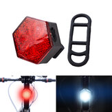BIKIGHT USB Rechargeable Bike Tail Light Waterproof Ultra Bright LED Bicycle Lights for MTB Road Bike