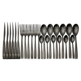 KCASA KC-ST004 High-end Stainless Steel 24 Pieces Flatware Set Dinnerware Set