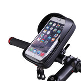 BIKIGHT 6.0 Inch Bicycle Phone Holder Waterproof  Phone Case Bag Bike Bracket Bag Portable Outdoor Cycling Camping Essential