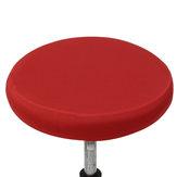 O tamborete redondo cobre a proteção redonda da luva da cadeira do agregado familiar da fibra elástica 6 cores