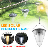 Solar Powered LED Tree Hanging Light Garden Path Way Fence Yard Patio Lamp Waterproof Decor
