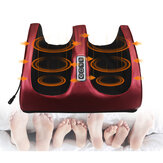 24W 6 in 1 Electric Foot Massager Sports Fitness Relaxing Household Foot Leg Calves Ankle Toes Massage Machine