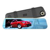 4.3дюймов1080PFullHDСенсорный экран G-сенсор Зеркало заднего вида Авто камера Видеорегистратор 140 градусов Широкий угол