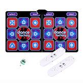 Tapete de dança com fio Pad Computer TV Emagrecer Cobertor de dança com dois somatossensorial Gamepad uma versão luzes coloridas