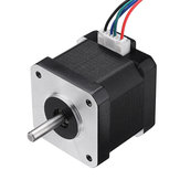 Machifit 42BYGH40-1704B Nema17 Stepper Motor 42mm Dual Shaft 1.7A Motor for CNC Engraving Machine