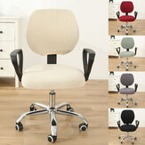 Computer Office Chair Stretch Covers Swivel Rotating Seater Armchair Protector