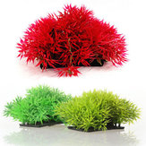 Artificiale Erba Acquario Decor Acqua Weeds Ornamento Pianta Fish Tank Decorazioni e ornamenti