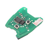 433MHz Remote Key PCB Circuit Board For Peugeot 307 /73373067C