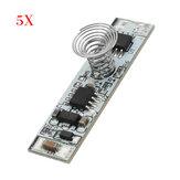 5 pcs DC 9 V À 24 V Tactile Commutateur Capacitif Tactile Module De Capteur LED Variation De Contrôle Module D'éclairage Contrôleur