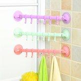 Lock-Type Strong Suction Cups Hook Kitchen Bathroom Wall Towel Racks