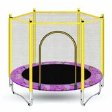Mini Round Indoor Trampoline Child Playing Jumping Bed Enclosure Pad Exercise Tools