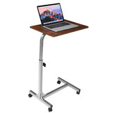 Douxlife RT-02 Laptop Desk Rolling Table Side Table Sofa Bed Table Height Adjustable MDF Steel Frame For Home Office