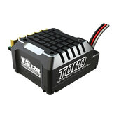 SKYRC SK-300062-02 TORO TS120 1/10アルミ製ブラシレスセンサー付ESCサポート2-3S Lipo
