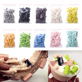 70 Pz / Borsa DIY Slime Stuff Spugna Fango Striscia di Schiuma Block Additivi Riempimento Forniture di Argilla Fluffy Accessori