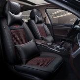 65x55x25 सेमी B92936 काले 5 पु कार सीट कवर यूनिवर्सल फिट कवर 95% कारों के प्रकार