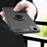 C-KU Protective Case For iPhone XR 360º Rotating Ring Grip Kicktand Back Cover