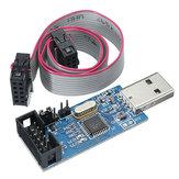 3pcs 3.3V / 5V USBASP USBISP AVRプログラマダウンローダUSB ISP ASP ATMEGA8 ATMEGA128サポートダウンロードWin7 64K過電流保護機能