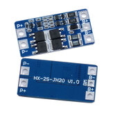 HX-2S-JH20 2S 7.4V 8.4V 18650 Lithium Battery Protection Board  with Equalization Overcharged Protection