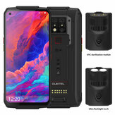 OUKITEL WP7 Super Bundle Global Bands IP68 Waterproof 6.53 inch FHD + NFC 8000mAh 48MP Triple Camera Android 9.0 8GB 128GB Helio P90 4G Smartphone