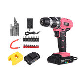 12/21V Brushless Impact Wrench 1500/2000mAH Cordless Rechargeable Electric Drill Tool With Battery