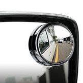 Araba Araç Kör Nokta Aynası Arka Görünüş Aynaları HD Konveks Cam 360 Derece Görünüm Ayarlanabilir Ayna