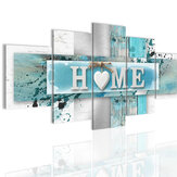 5 Panelen Love HOME Wall Art Print Afbeeldingen Canvas Schilderijen Decoraties Unframed