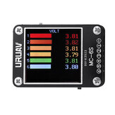 URUAV MC-6S 1-6S Lipo Battery Voltage Checker Penerima Sinyal Tester