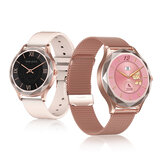 DT NO.1 DT86 HD Screen Female Menstrual Monitoring 24-hours Heart Rate Blood Pressure Oxygen Detection bluetooth Music Playback Control IP67 Waterproof Smart Watch